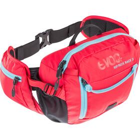 EVOC Hip Pack Race Vätskebälte 3 L + Hydration Bladder 1,5 L röd